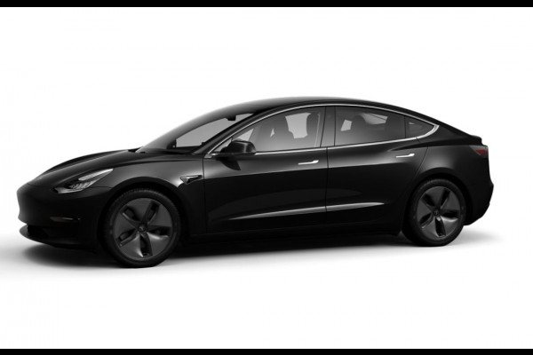 Tesla Model 3 Standard RWD Plus (ex BTW) Zwart/ Zwart - Trekhaak